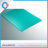 PC alvéolaire Sunsheet de Policarbonato de feuille de cavité de polycarbonate de 6mm