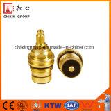 Válvula de cobre amarillo del cartucho para el grifo de calidad superior