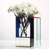 China Professional Export Square Glass Acrylic Vase