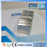 Магнит магнита дуги неодимия постоянный для магнита мотора магнита генератора