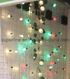 Lumières commerciales de chaîne de caractères de Noël de rideau en DEL pour d'intérieur et extérieur