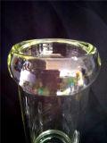 AA045 vendem por atacado a tubulação de fumo de vidro do reciclador
