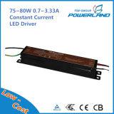 excitador constante do diodo emissor de luz da corrente de 75~80W 0.7~3.33A