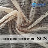 Chinese Fabrikant --de Stof van het Netwerk van de Jacquard 80.2%Nylon 19.8%Spandex