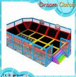 Große Innentrampoline mit Basketball, Kugel-Pool, Schaumgummi-Vertiefung