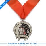 Qualitäts-Zink-Legierungs-Medaille mit Abzuglinie