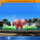 Fontaine européenne de type de musique de multimédia avec le divers type de l'eau