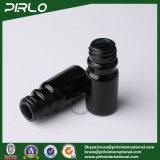schwarze Glasflaschen des wesentlichen Öl-5ml mit schwarzer Überwurfmutter