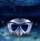 Mascherina del silicone di immersione subacquea, mascherina adulta di immersione subacquea