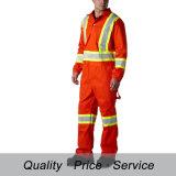 Fabrik-Zubehör-Sicherheit, die hohe Sichtmens-Overall-Arbeitskleidung kleidet
