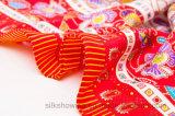 Sjaal van de Zijde van het Ontwerp van de Douane van de fabriek de Directe Digitale Afgedrukte