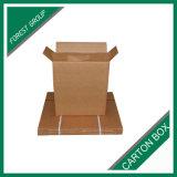 Rectángulo de empaquetado respetuoso del medio ambiente del papel acanalado