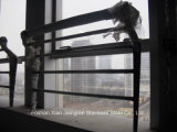 Alberino di vetro dell'inferriata della scala del corrimano dell'acciaio inossidabile