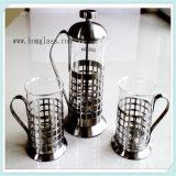 Внешний вид Wih стеклянного чайника (сделанного из боросиликатного стекла 3.3) красивейший