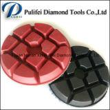 4inch 지면 분쇄기에 의하여 이용된 연마재는 다이아몬드 지면 건조한 닦는 패드를 도구로 만든다