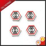 Neues Markendesign-Zahl-Zeichen-Schwarz-Gummikennsatz für Rucksack