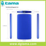 携帯電話のためにスマートな超細い携帯用薄いアルミニウム充電器Powerbank