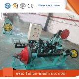 低価格の二重繊維の有刺鉄線の網機械