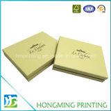 Caixas luxuosas do chocolate dos doces do cartão com divisor de papel