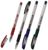 Klik Pen van de Inkt van het Gel van het Uiteinde van het Roestvrij staal van het Gel Pen/0.5mm de Intrekbare