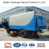 6cbm Dongfengの真空の道掃除人の洗剤のトラックEuro4