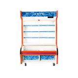 Refrigerador novo de Oder do prato da porta de vidro de deslizamento da Três-Camada do projeto