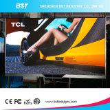 P2.5 Ultral de interior HD que hace publicidad de la pantalla de visualización de LED, visualización video flexible de HD LED talla de cabina de 400 x de 300m m