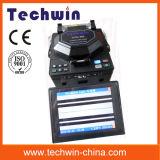 Машина Tcw605 соединения стекловолокна цифров сведущая для конструкции линий хобота и FTTX