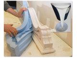 Borracha de silicone líquido de dois componentes da temperatura ambiente para fabricação de moldes