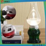 Lâmpada ajustável do diodo emissor de luz do controle do sopro do brilho para a luz do quarto do bebê