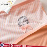 Roupa interior elegante modal Panty das senhoras do roupa interior das raparigas da impressão da listra vertical da venda quente