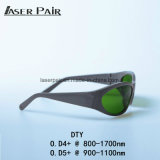 Óculos de proteção de segurança do laser do Ce En207 para o diodo láser, remoção 1064nm do cabelo do laser de Diodo, 980nm beleza Equitment, laser 808nm de /Diode da máquina de estaca do laser