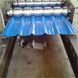 لون فولاذ يغضّن سقف صفح لف آليّة يشكّل آلة