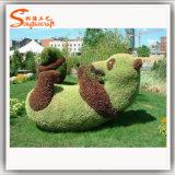 Animal al aire libre del Topiary del paisaje del jardín de la decoración