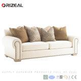 Insieme classico americano del sofà del tessuto, sofà del salone (OZ-SF-039)