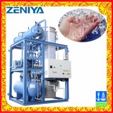 Macchina di fabbricazione di ghiaccio raffreddata ad acqua del tubo per alimento