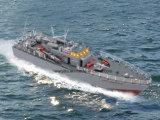 Modello guida simulazione della barca di torpedine della nave di pesca della scala RC di 1:115 di alto potere