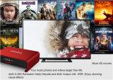 アンドロイド6.0のプロ二重WiFi KodiスマートなTV Kodi 17.0前もって積まれたAmlogic S912 Pendoo T95u