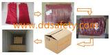 Volle Futter-rote Kuh-aufgeteilter Schweißhandschuh Dlw605