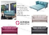 Самомоднейшая софа Funcional ткани Cum мебель комнаты кровати живущий (кровать слипера)