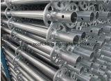 Standard galvanizzati dell'armatura di Ringlock del TUFFO caldo/alberini verticali per costruzione
