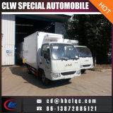 Della Cina piccolo JAC camion congelato 3ton del gelato del camion della casella di buona qualità
