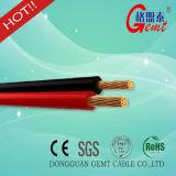 2 Kerne OFC rot und schwarzer Lautsprecher-Draht für AudioApplian Cer 227 IEC42