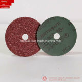 125mm, 지르코니아 & 원형 구멍을%s 가진 디스크를 모래로 덮는 알루미늄 산화물 연마재