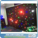 Cortina del cortina de la estrella de la alta calidad LED/video para la etapa