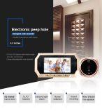 """câmera do visor da porta do Peephole de 4.3 de """" Digitas da tela TFT LCD"""