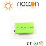 Naccon Ni-MH 9V bateria recarregável (Ni-MH 9V250BP1)