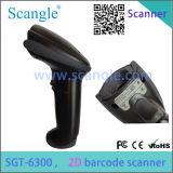 Hot Seller 2d Scanner de code à barres laser / lecteur de code à barres Sgt-6300