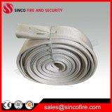 Il PVC singolo o doppio della manichetta antincendio della tela di canapa del rivestimento ha allineato 2 la barra del Wp 13 di pollice