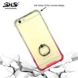 Caja a prueba de choques del teléfono del color del gradiente de Shs para el iPhone 7
